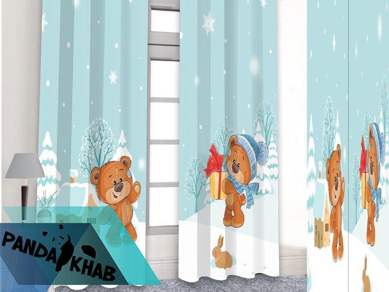 خرید روتختی سه بعدی طرح خرس