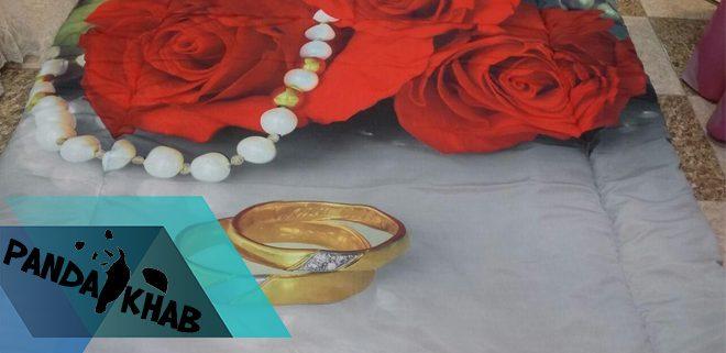 خرید روتختی سه بعدی طرح گل رز