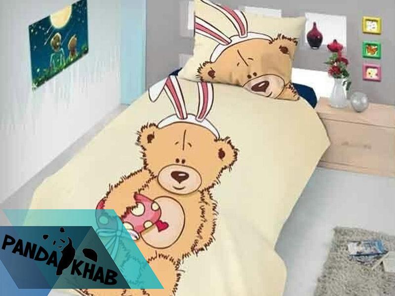روتختی طرح خرس خوابیده سه بعدی