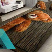 قیمت سرویس روتختی سه بعدی طرح خرس
