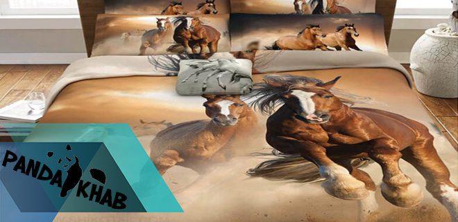 کمترین قیمت روتختی سه بعدی طرح اسب