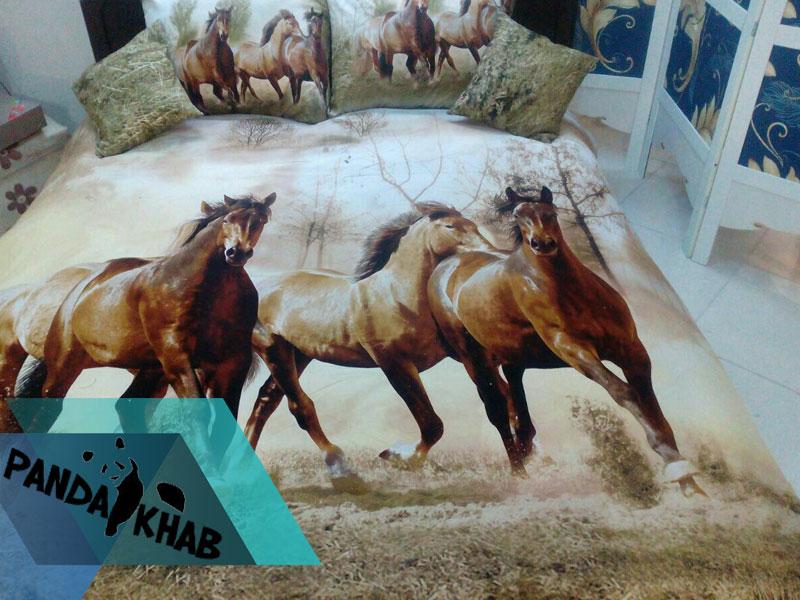 روتختی سه بعدی با طرح اسب اوزدیلک