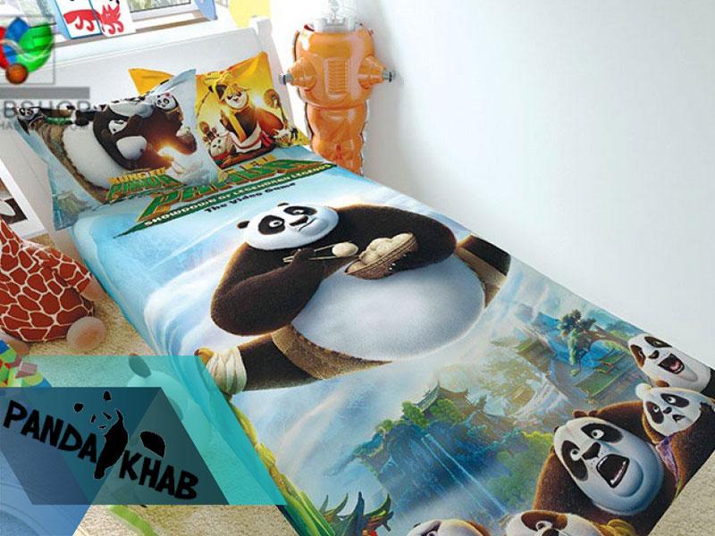 رو تختی کاور دار issimo سه بعدی طرح خرس